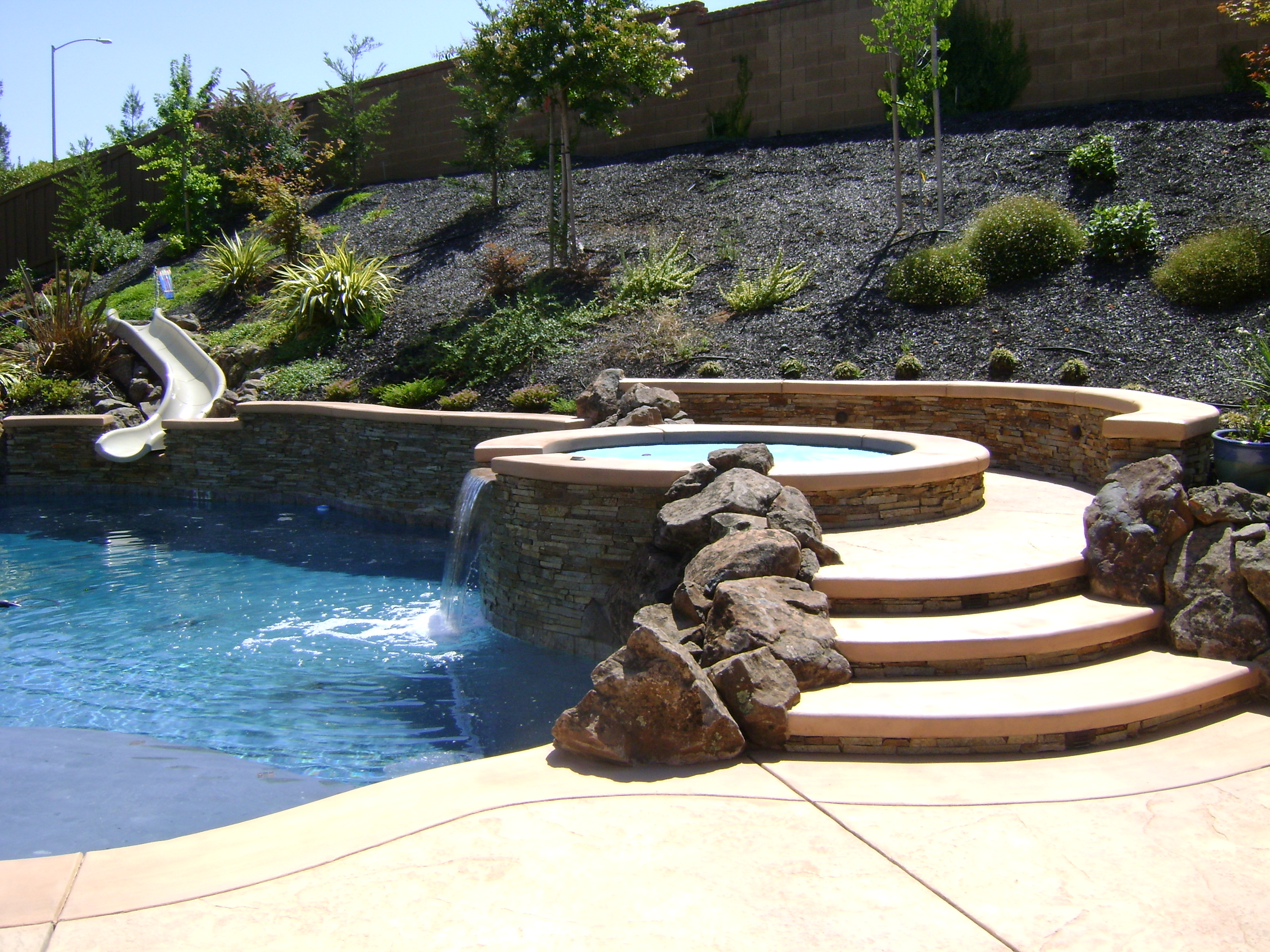 Design Your Own Swimming Pool photo 1 of 8 design your own backyard 1 design own backyard pool yard designs design your own swimming Swimming Poolspa Design