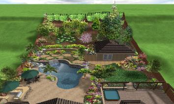 Landscaping Rocklin Swimming Pool Spa Design Yard Service